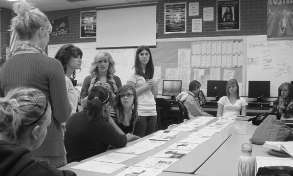 Deadline stress takes toll on yearbook staff