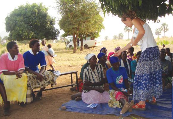 Jessie Hardin offers take on Uganda trip