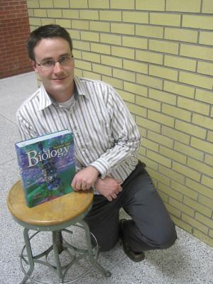Teacher of the Month Nathan Gregier