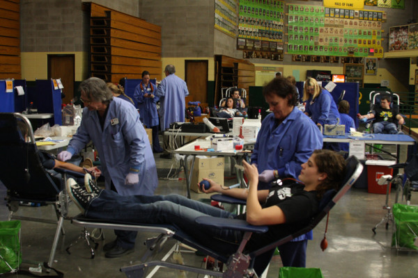 Blood+Drive+attracts+dozens+of+donors