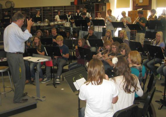 CMR band director shares experiences in the classroom