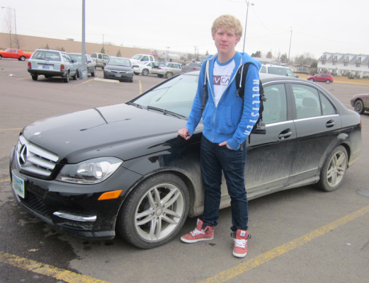 Straight A's land student a Mercedes