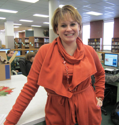 Media specialist Amy Borger takes on 3-4 English