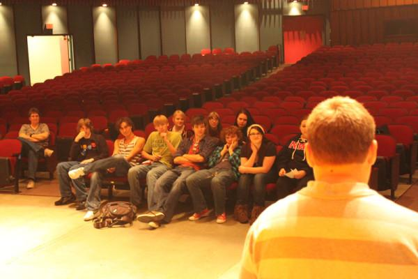 Drama students perform on Monologue Monday