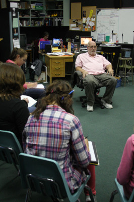 Evans passionate about teaching life skills to students