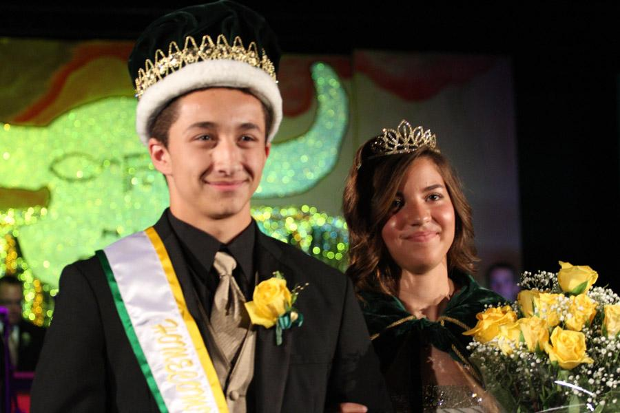 THE NEW KING AND QUEEN ARE NAMED