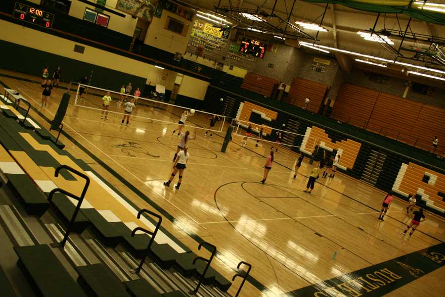 Volleyball+prepares+for+Missoula+Invite