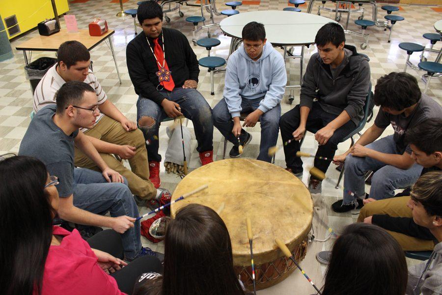 Drum+circle+meets+at+CMR