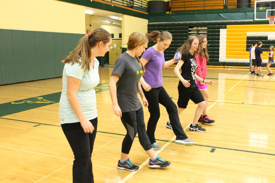 CMR Gym Students learn how to