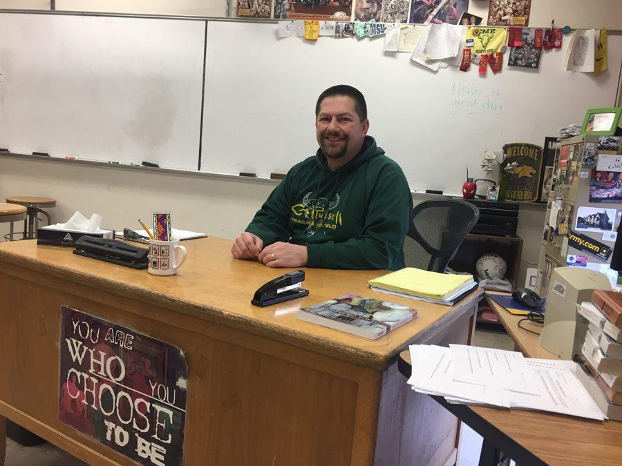 English teacher connects with students through student government