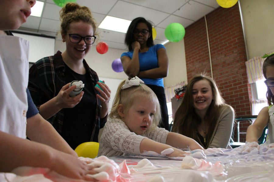 CMR students find help from an unexpected guest