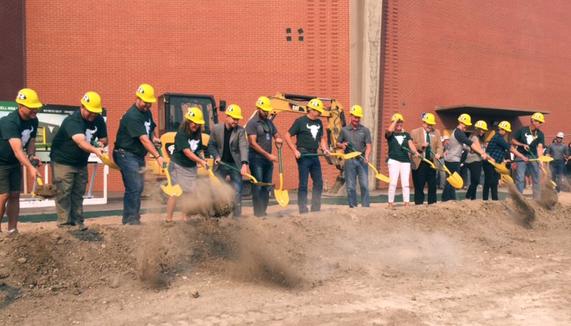 Groundbreaking ceremony marks start of construction