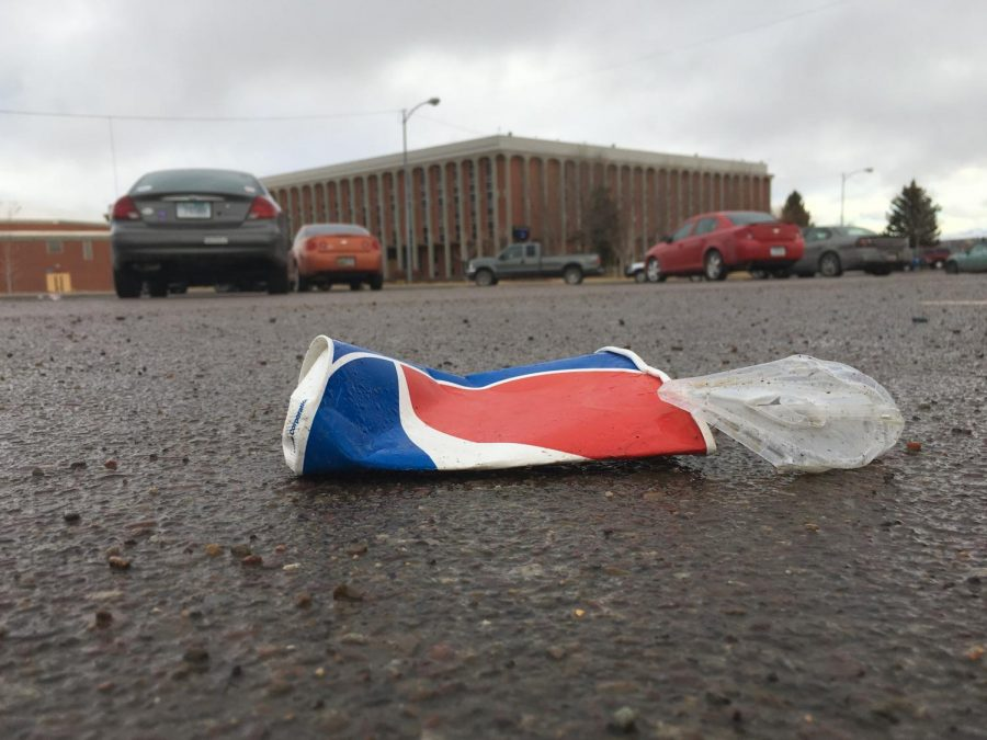 Littering is inconveniencing students