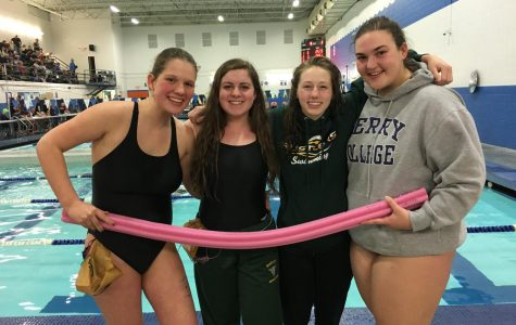 Girls swim team hopes to carry out new(dle) tradition
