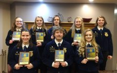 Eight Electric City FFA members receive State Proficiency awards