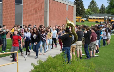Rustlers welcome 8th graders on Leap-Up Day