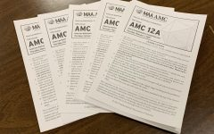 Math students struggle through AMC 12 test, teacher sees potential benefit