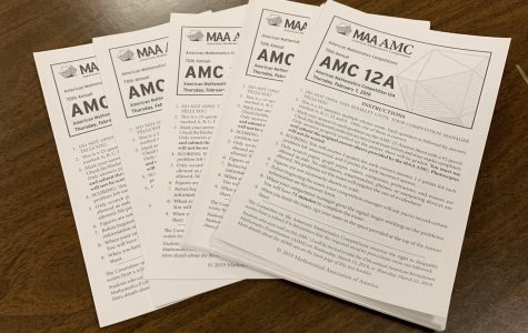 Math students struggle through AMC 12 test, teacher sees potential benefit