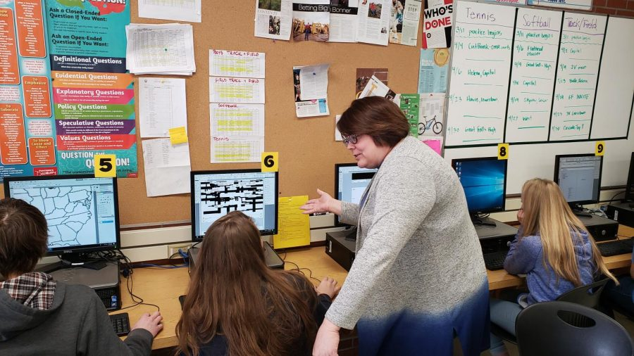 Intro to Journalism practices yearbook design