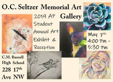 AP Art exhibition opens May 7