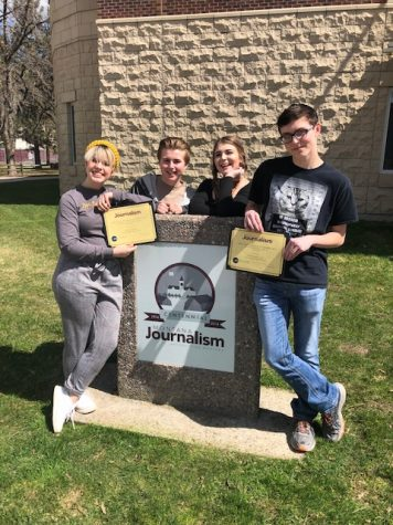 Stampede staff earns awards at Montana High School Journalism Day