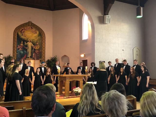 Chanteur+Choir+Concert
