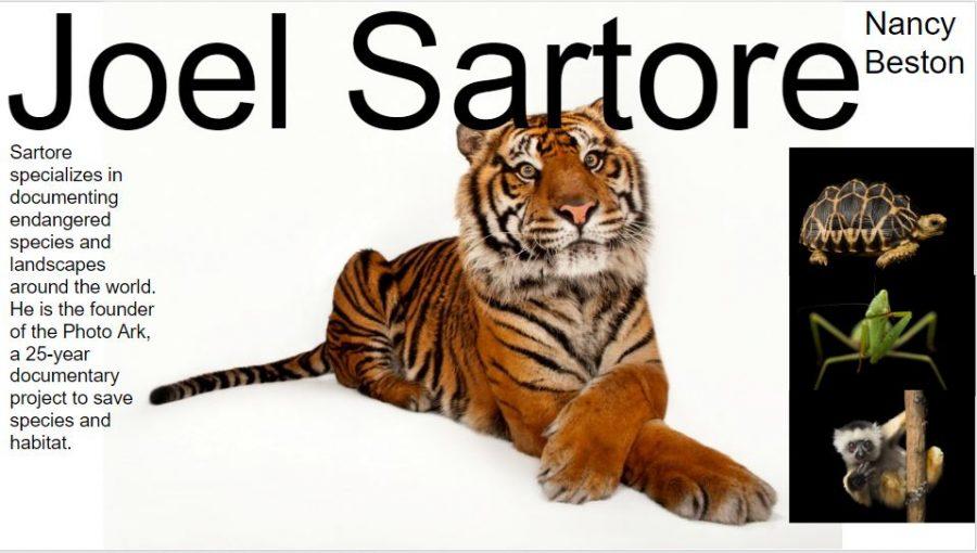 Joel Sartore - Nancy Beston