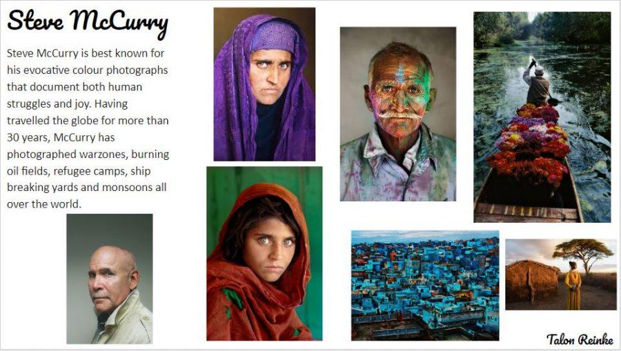 Steve McCurry - Talon Reinke