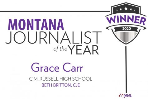 Stampede editor named Montana HS Journalist of the Year