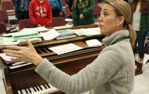 Choir teacher inspires herself through her surroundings