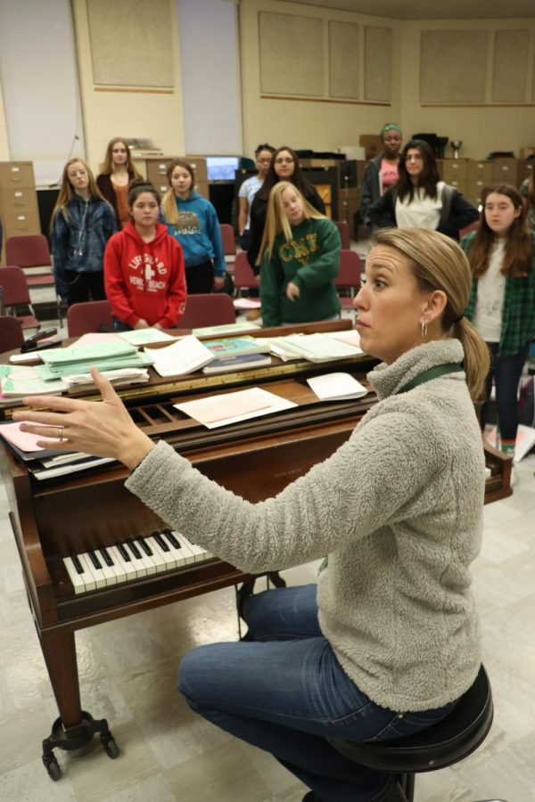 Choir teacher inspires herself through her surroundings