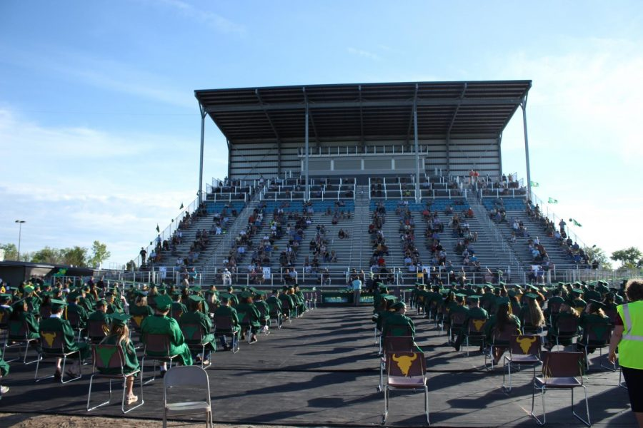Rustler graduates celebrate end of high school