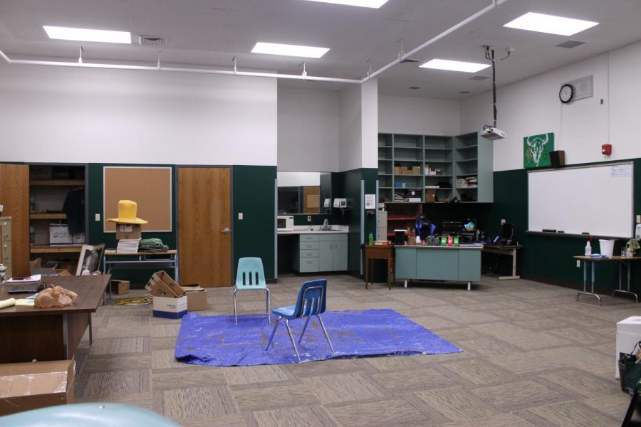 Drama room gets makeover