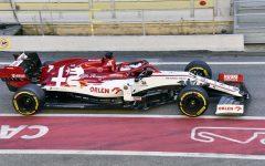 2020 Formula One tests Barcelona, Alfa Romeo C39, Räikkönen.jpg
