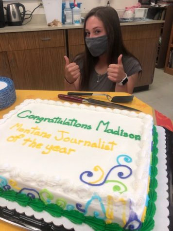 Madison George named Journalist of the Year