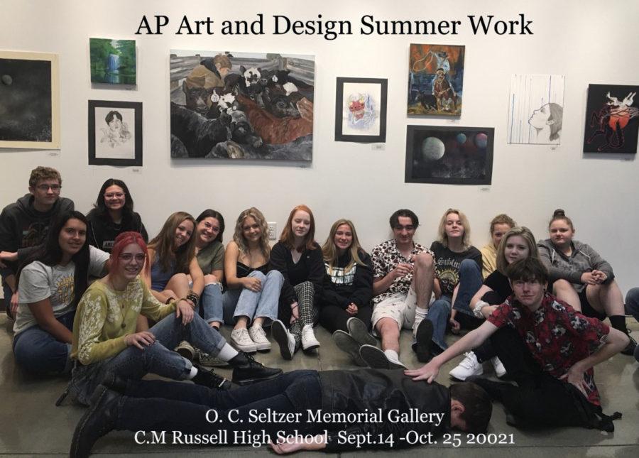 AP art show showcased in Seltzer Gallery